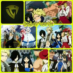 The guild no one wanted to mess with...Until Fairy Tail came back of course. It's the Sabertooth guild! Enjoy! (: Wallpaper/Grid