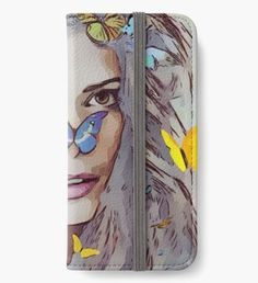 """""""Woman"""" iPhone Wallet by Iphone Wallet, Iphone 6, Sell Your Art, Wallets, Fan Art, Phone Cases, Seasons, Woman, Seasons Of The Year"""