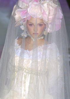 Veiled fairy #fave #myblog christian lacroix gemma ward