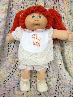 Vintage Cabbage Patch Doll! I still have mine..she is a brunette. =) $10