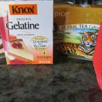 Chai Tea Gelatin Bites--use Great Lakes gelatin