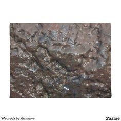 Wet rock doormat