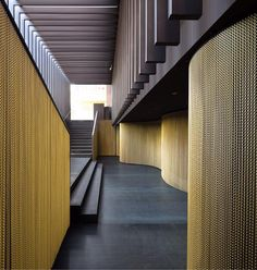 Canalla Disco in Pamplona. KriskaDECOR  #metal curtains for #interiordesign and #decor by Vaillo Irigaray architects