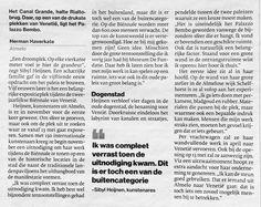 #ALMELO @SibylHeijnen #BienalleVenetie 13 mei opening #Tubantia 