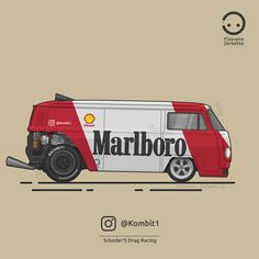 Volkswagen, Vw T1, Moto Drag, Auto Illustration, Cool Car Drawings, Car Prints, Vw Vintage, Car Posters, Drag Racing