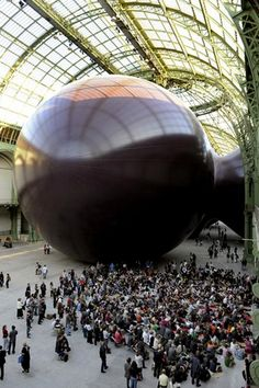 Anish Kapoor, Monumenta 2011. Grand Palais, Paris