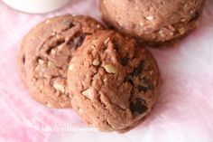Nutella Hazelnut Chocolate Chip Cookies