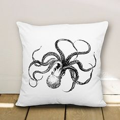 Decorative Cute Octopus Throw Pillow Covers Designer Accent Pillow Covers Cushion Cover avimoDi http://www.amazon.com/dp/B015J1J6L8/ref=cm_sw_r_pi_dp_bCOtwb10J3EPF