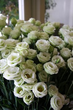 #lisianthus blancs #fleurs #mariage #francefleurs