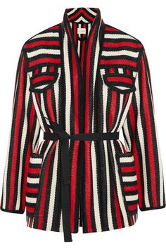 Étoile Isabel Marant | Breeda striped wool-blend jacket | NET-A-PORTER.COM
