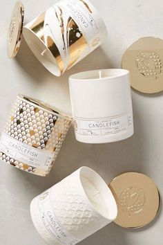 Candles for mawmaw- Candlefish Ceramic Candle Luxury Candles, Home Candles, Diy Candles, Scented Candles, Candle Jars, Candle Holders, Fancy Candles, Candle Containers, Homemade Candles