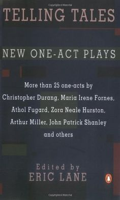 Telling Tales and Other New One-Act Plays with contributions by Zora Neale Hurston