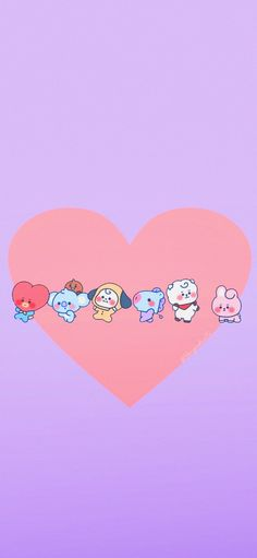 Bts Backgrounds, Cute Wallpaper Backgrounds, Cute Wallpapers, Army Wallpaper, Bts Wallpaper, Iphone Wallpaper, Baby Pink Aesthetic, Bts Drawings, Line Friends