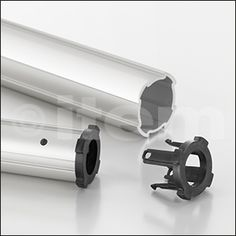 Plain Bearing Sleeve D30/D20 ESD ensures that a Profile Tube D30 will slide smoothly inside a Profile Tube D40/D30 This makes it ideal for building retractable telescopic solutions.