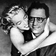 Marilyn with Arthur Miller