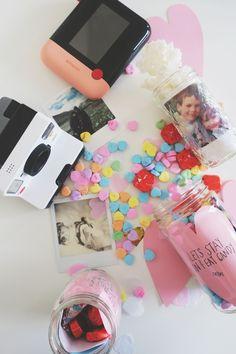 DIY Polaroid Photo Memory Jars