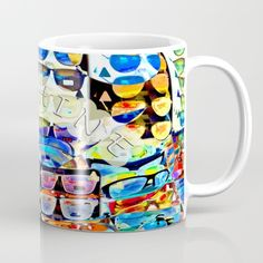 Sunshinie Day Coffee Mug by crismanart Coffee Mugs, Tableware, Day, Dinnerware, Coffee Cups, Tablewares, Place Settings, Coffee Cup