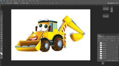 How to create a car - excavator