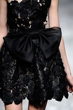 valentino little black dress