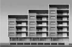 Residential building 1948- S. Donato Milanese, via Flickr.