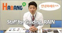 Staff for Guiding, Rain