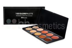 BH Cosmetics - 10 Color Camouflage and Concealer Palette.    $16.95