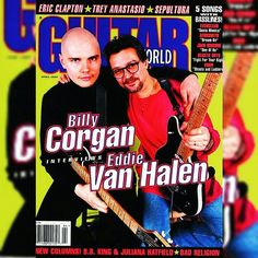APRIL 1996   EDDIE VAN HALEN'S 11TH APPEARANCE ON THE COVER OF GUITAR WORLD MAGAZINE