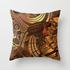 Mad Mad World Throw Pillow by Lyle Hatch | Society6