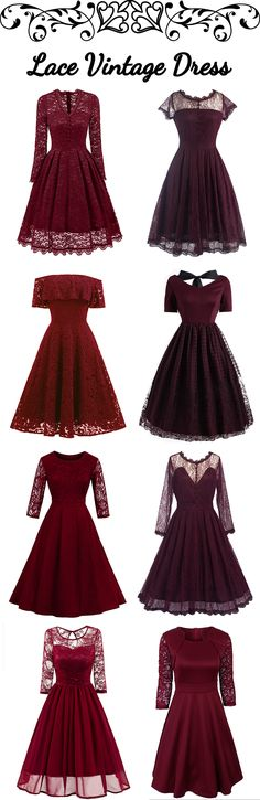 100+ Lace Vintage Dresses | Low to $2.99 | #bottomprice #vintage #Dress