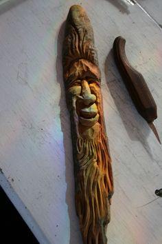 Wood Spirit by Ron Jurcak