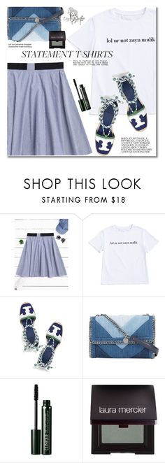 """Untitled #2796"" by svijetlana ❤ liked on Polyvore featuring Tory Burch, STELLA McCARTNEY, Clinique and Laura Mercier"