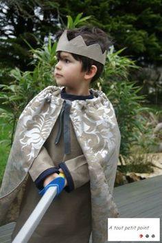 Le déguisement de roi