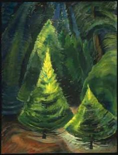 Trees, No. 1 - Emily Carr Art Reproduction | Galerie Dada