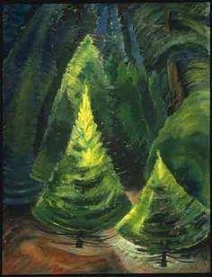 Trees, No. 1 - Emily Carr Art Reproduction | Galerie Dada