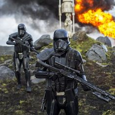 New Rogue One A Star Wars Story movie still Death Troopers #starwars #rogueone…