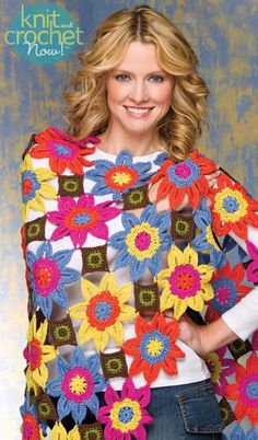 Free Crochet Pattern Download -- This Vivaldi Throw, designed by Shannon Mullett-Bowlsby for Shibaguyz Designz, is featured in episode 401 of Knit and Crochet Now! TV. Learn more here: www.knitandcrochetnow.com