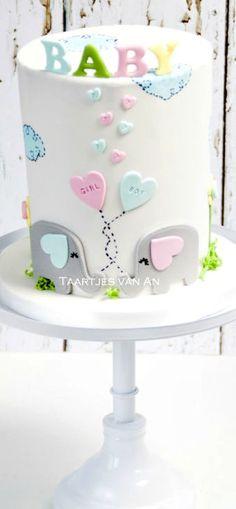 Babyshower boy or girl Cake