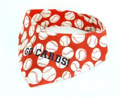 Hey, I found this really awesome Etsy listing at https://www.etsy.com/listing/222533483/st-louis-cardinals-baseball-dog-bandana
