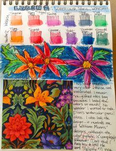 Art Journal page - TabascoCat Art #art #journal #journaling