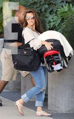 baby bag prada
