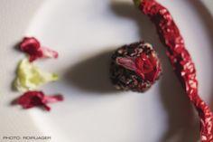 Rose-hip, Black Rice & Chilli Dumplings (Vegan)