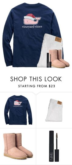 """""""cute?"""" by smileyavenuegirl ❤ liked on Polyvore featuring Abercrombie & Fitch, UGG Australia and NARS Cosmetics"""