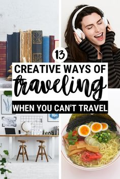 What should you do when you can't travel? Turn onto virtual travel, because you should certainly dream about traveling. But that's not all. Read this post to discover the best ways to travel without traveling and get entertained, busy and lifted even when you can't leave the house | Virtual traveler | virtual traveling | How to travel more | #traveling #traveltips via @clautavani