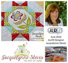 Aurifil 2016 Design Team June Jacquelynne Steves collage