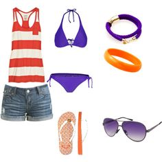 4th of July outfit minus the aviators