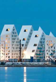 Iceberg - Jagged residential community in Aarhus by an impressive collaborative including CEBRA, JDS/Julien De Smedt Architects, SeARCH, Louis Paillard - Loved by @denmarkhouse