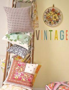 print & pattern: VINTAGE