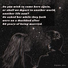 It's a poem about two lovers who have been married for 80 years now but are now on their death bed departing to a place they are yet to decide! Read my poem to find out what that place is going to look like! #poem #poetry #lovepoem #poemforhim #poemforher #famouspoems #shortpoems #love #soulmates #stars #aesthetic #starpoems Poems About Stars, Famous Poems, Short Poems, Love Poems, Another World, Wish, How To Find Out, Poetry, Death