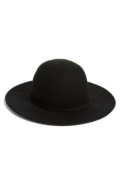 A trendy hat is an absolute must for amping up the fall wardrobe. Definitely adding this black Hinge wool round crown hat to the NSale shopping cart.