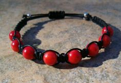Red Coral Healing Energy Bracelet  ($15) Absorbs negative energy Stimulates pursuit of goals Protects from depression & despondency Fosters friends...